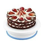 PTN Torta Giratoria, Cake Turntable Stand, Plato Giratorio Torta Giratoria, para Decoración de Pasteles, Cupcakes, para Principiantes y Amantes de Pasteles