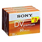 Sony Mini DV Premium 3 PK - Cinta de Video