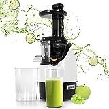 Duronic JE2 Licuadora de 200W para frutas y verduras – 2 Velocidades – Boca Ancha 45 mm – Boquilla antigoteo – Jarra de 600ml – Libre de BPA – Filtro Pulpa