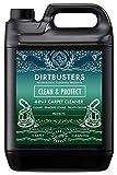 Dirtbusters - Clean & Protect - 4 en 1 Limpiador, removedor de manchas, neutralizador de olores y protector. Aroma cítrico. 5 litros