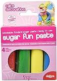 Dekora 424060 - Pack Fondant 4 Colores Básicos, 400 gr