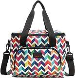 Nevera portátil de 10 l, bolsa para el almuerzo, bolsa para guardar comida, multifuncional, pequeña bolsa de picnic, bolsa de playa, bolsa térmica de abertura completa