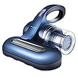 Aspirador de cama UV inalámbrico Mamibot Aspirador de ácaros del polvo, Limpiador de colchón inalámbrico de mano, Lámpara germicida tipo U para camas, almohadas, limpieza de sofás