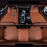 Gullivery para Range Rover Sport 2010-2013 - Alfombrillas para Coche A Medida - Antideslizantes Impermeable Protección Delantero+Trasera,Marrón