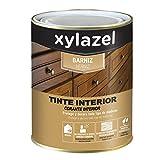 Xylazel - Barniz tinte interior brillante 375ml nogal