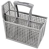 Electrolux - Cesta de cubiertos para lavavajillas, jaula y asa (6 compartimentos, asa y tapa)