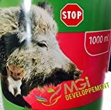 MGI DEVELOPPEMENT - Repelente de jabalíes, 1L, barrera para animales salvajes