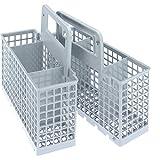 Whirlpool C00380125 - Cubertero con accesorios para lavavajillas, color gris