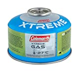 Coleman C100 Xtreme Cartucho Gas, Unisex, Verde, Extra-Small