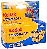 KODAK KOD102201 - Película negativo color (35mm, ultra max gc 400-24 tripack) multicolor