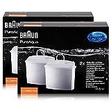 Braun PureAqua BRSC006 - Cartucho de filtro de agua (2 unidades)