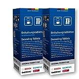 12 pastillas descalcificadoras para cafeteras Bosch Siemens Neff Gaggenau n.º: 310967
