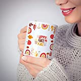 Happy Fall Y'All, Autumn Mug, Autumn Gifts, Gifts For Her, Autumn In The Uk, Gifts For Mum, Mug Uk, Coffee Mug, All Mug, Autumn Decor Ceramic 11 Oz Travl Coffee Tea Mugs Cups