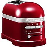 KitchenAid 5KMT2204ECA - Tostadora,1250 W, color rojo, 220 - 240 V, 50 - 60 Hz
