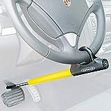 Artago 871A/B Barra Antirrobo Coche Volante Pedal Cierre Basculante y Enganche fácil