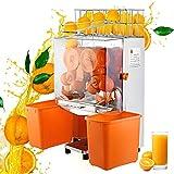 VEVOR Exprimidor de Naranjas,120W, Máquina Automática Comercial, 20 Naranjas/min, Exprimidor Eléctrico de Naranjas Comercial, 45x34x78.5cm, Exprimidor Naranjas Zumo Industrial, 42 kg