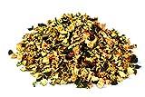 Piezas de calabacín seco orgánico 1kg Fairtrade BIO ecológico vegetales, alimentos crudos, para batidos, sopa, ensalada y como aperitivo, aromático dulce, amarillento/verdoso/pardusco 1000 g