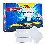Oputec 50_ek - Pastillas descalcificadoras para cafeteras automáticas, espresso y hervidoras (50 unidades)