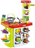 Supermercado 100% Chef con cesta y 20 accesorios (Ecoiffier 1784) , color/modelo surtido