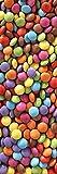 Plage Caramelos Vinilo Adhesivo para la Cocina, Vinilo, Multicolor, 60x180 cm