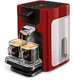 Senseo Quadrante HD7865/80 - Cafetera (Independiente, Máquina de café en cápsulas, 1,2 L, Dosis de café, Rojo)