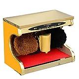 Shoe polisher Pulidor automático de Calzado, Limpiador de Calzado eléctrico para el hogar, Lavadora de Calzado, Cepillo automático, Tablero Escalonado de Acero Inoxidable Integrado
