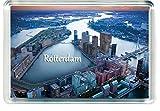 DreamGirl J009 Rotterdam Jumbo Imán para Nevera Netherlands Travel Fridge Magnet