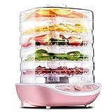 Máquina De Frutas, Secadora De Alimentos Para El Hogar, Deshidratación De Frutas Y Verduras, Pequeña, 5 Bandejas De Altura Ajustable, Ajuste De Temperatura, 245W
