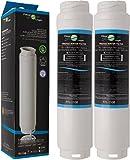 2 x FilterLogic FFL-110B Filtro de agua compatible con 3M UltraClarity 00740560 , 740560 / 644845 para BALAY , BOSCH , SIEMENS , NEFF , MIELE , HAIER frigorífico - Ultra Clarity 9000733786 VIB-Z4500W0