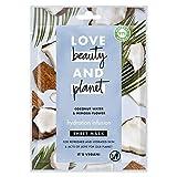 Love Beauty and Planet - Mascarilla de Tejido agua de coco y flor de mimosa Hydration Infusion