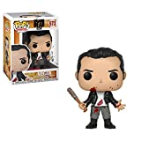 Funko Pop!- 25206 The Walking Dead Negan (Clean Shaven) Figura de Vinilo, Multicolor