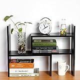Zerone estantería biblioteca de almacenaje para escritorio, soporte para Organiser Ranger negocios de escritorio con 5compartimentos para casa oficina cocina dormitorio cuarto de baño