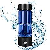 InLoveArts Vaso de Agua Rico en hidrógeno Iones 380ml Alta concentración Generador de hidrógeno Botella de Agua Potente Antioxidante Llénate De Energía