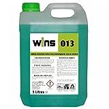 VINFER Wins 013 Abrillantador para Máquinas Lavavajillas. Envase 5 L. Producto para el aclarado y abrillantado automático de la vajilla y la cristalería. No Deja restos.