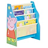 Hello Home Librería con estantes Colgantes, Madera, Azul, 23x51x60 cm