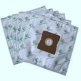 Clean Fairy Paquete de 20 Bolsas de Filtro de Polvo Universal Compatible con AFK Samsung Daewoo Kenwood LG Severin TRISA Aspiradoras Dimensiones de cartón 109x99mm