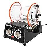 La máquina pulidora de tambores de joyería, rotación en dos direcciones, se puede rotar regularmente (10, 20, 30, 40, 50min), ajustable en 5 tipos de joyas brillantes de excelente velocidad(EU)