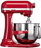 KitchenAid 5KSM7580XEER - Robot de cocina (Acero inoxidable, 50 - 60 Hz, Rojo)