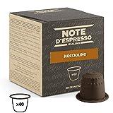 Note D'Espresso Cápsulas de Bebida Instantánea de Avellana - 40 Unidades de 7g, Total: 280 g