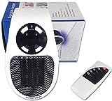 Apark Calefactor baño, Heater Estufa Eléctrica 500W con Termostato Ajustable Tiempo Programable de 12 Horas para cuarto de baño, habitación de los niños, dormitorio, oficina, Instant Heater (EU)