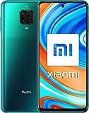 Xiaomi Redmi Note 9 Pro - Smartphone con pantalla FHD+ 6.67' DotDisplay (6 GB+128 GB, cámara cuádruple 64 MP con IA, SnapdragonTM720G, batería 5020 mAh) Verde y Mi Speaker-Pack Lanzamiento, V Española