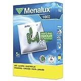 Menalux 1002 - Pack 5 bolsas sintéticas y 1 filtro para aspiradoras AEG Smart y Zanussi