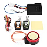 Sistema de Alarma de Motocicleta, Alarma de Seguridad Antirrobo, Arranque Remoto del Motor, 12V Universal, 125dB