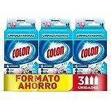 Colon Limpialavadoras - Limpiador lavadora y antiolor - megapack de 3 usos