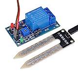 Lysignal 12V Sensor de humedad del suelo Módulo de control del relé Módulo del sensor de humedad del suelo