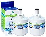 2x AH-S3F filtro de agua compatibles para Samsung nevera DA29-00003F, HAFIN1/EXP, DA97-06317A-B, Aqua-Pure Plus, DA29-00003A, DA29-00003B