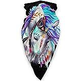 Lawenp Polaina multifunción para el cuello, cuello facial, violeta cortavientos, pasamontañas reutilizable, pañuelo, unisex, resistente al viento, deportivo, bufanda al aire libre, calentador de cue