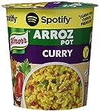 Knorr Pot Plato Preparado de Arroz al Curry - 87 gr - [Pack de 8]