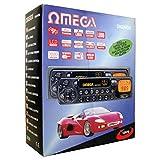 Omega 12070 coche estéreo 4 salida de canal/Radio FM Pantalla LCD AM