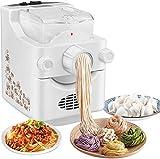 TTLIFE Máquina Automática para Fabricar Pasta, Máquina Eléctrica para Fideos con 9 + 3 Moldes a Elegir En 10 Minutos o Menos para Crear Deliciosos Fideos De Espagueti con Tallarines De Pasta Fresca